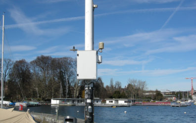 Monitoring and remote maintenance at Tecson weather stations with RAS-ECW-400